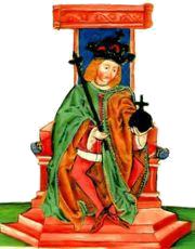 Károly Róbert trón